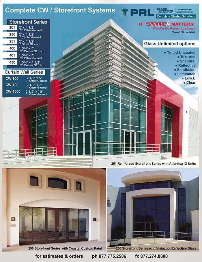 Center Glazed Storefronts