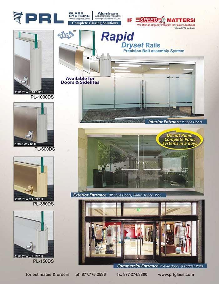 Rapid Dry Set Rails