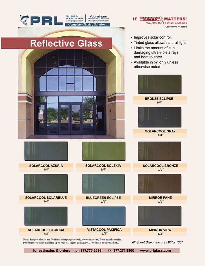 Reflective Architectural Glass