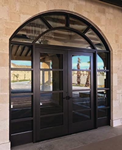 Custom Entry Doors Transom