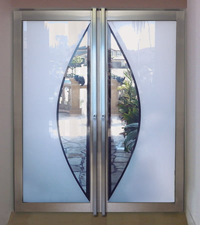 Laminated Glass Inlay Custom