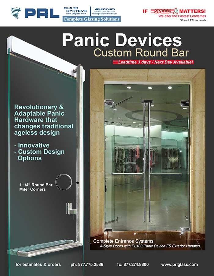 Panic Device Round Profile
