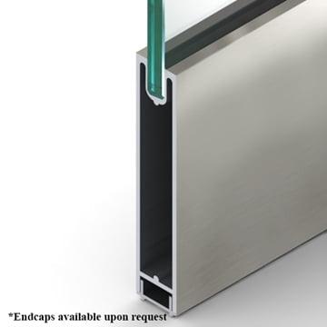 Square Dryset Rail Clear