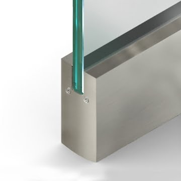 Square Wetset Rail Stainless